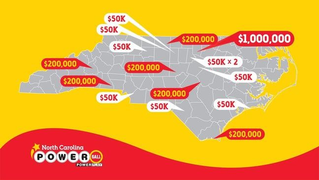 N C Powerball Ticket Wins 1 Million In Wednesday S Drawing Wlos