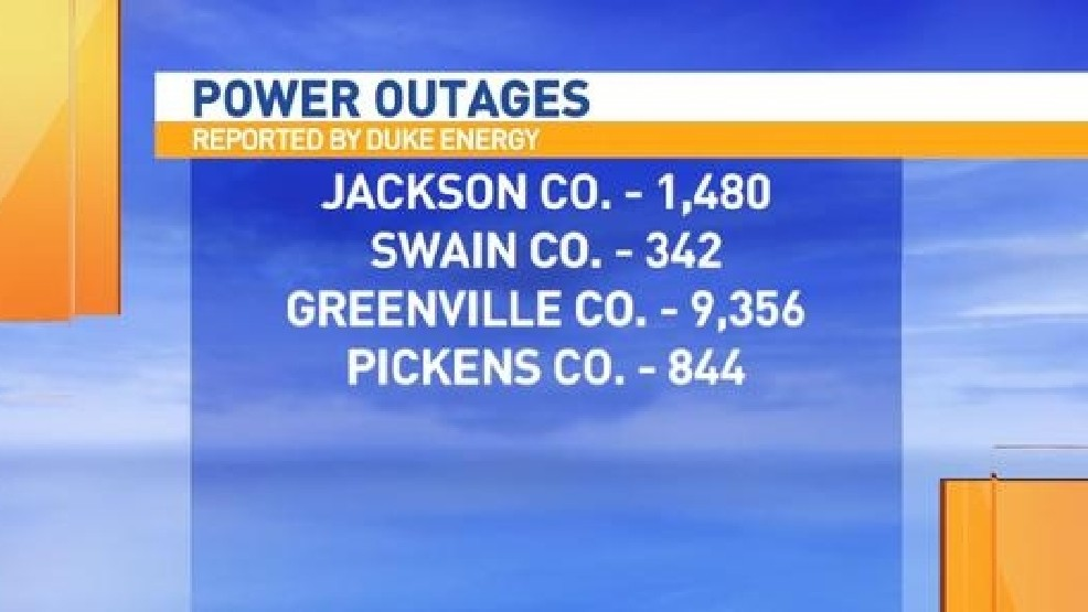 Thousands Without Power Across WNC & the Upstate | WLOS