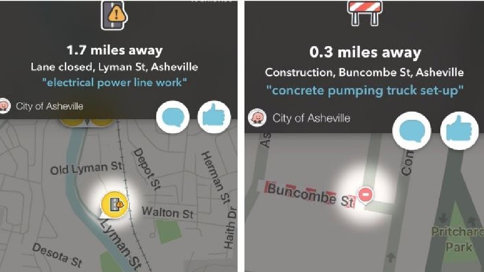 City of Asheville partners with Waze travel app to add official