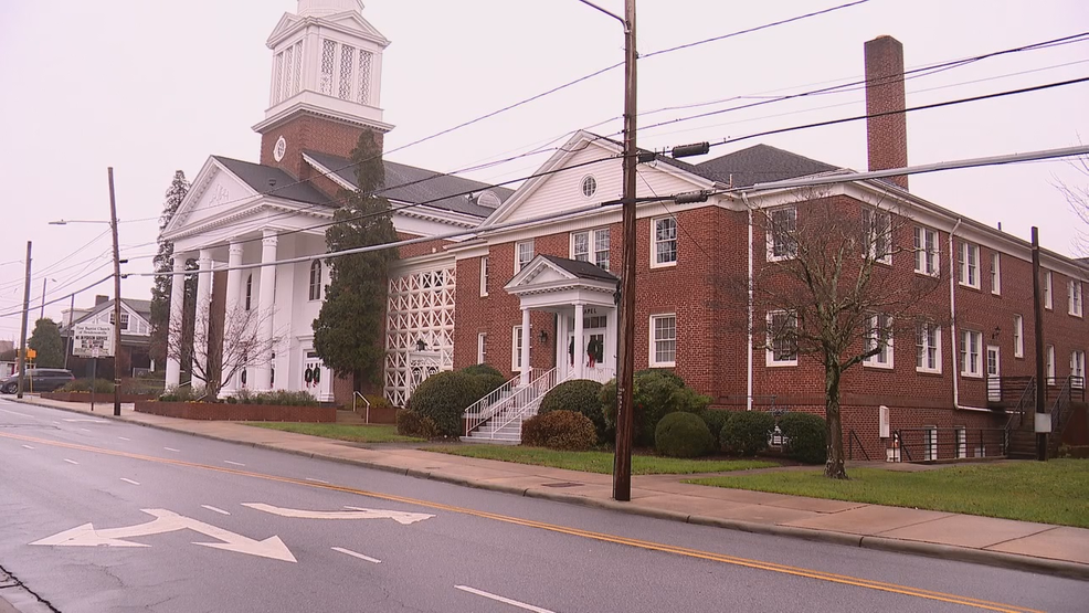 Officials with the Henderson County Department of Public Health told News 13 that 72 COVID-19 cases have been linked to a Christmas celebration held by Hendersonville First Baptist Church. (Photo credit: WLOS Staff)