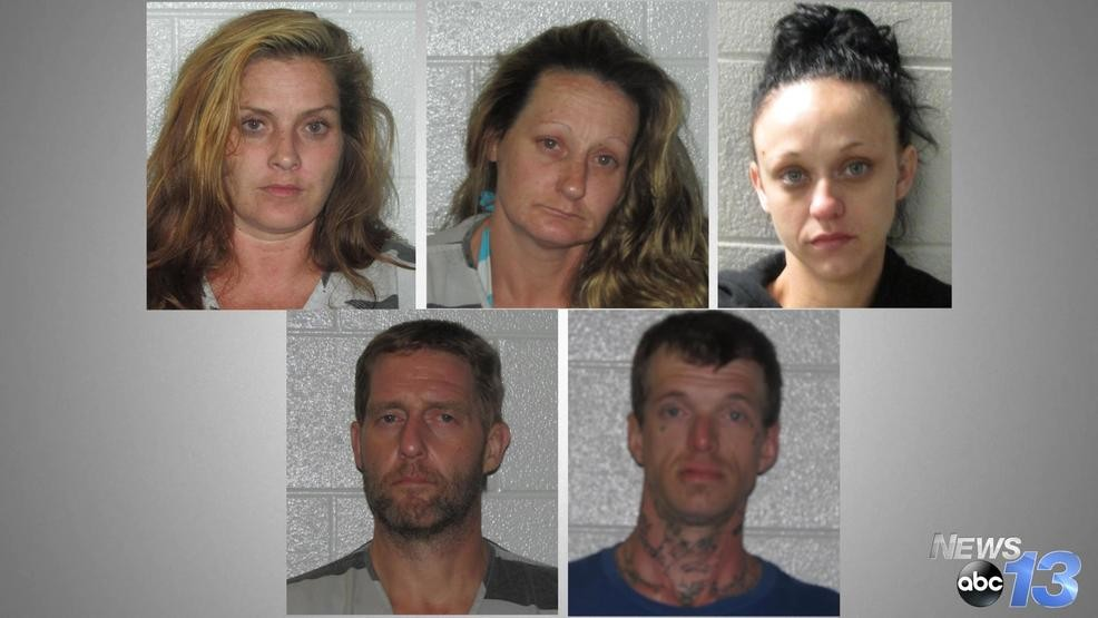 Five arrested in Henderson County drug bust | WLOS