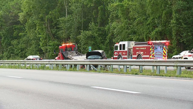 Traffic Alert: Major delays along I-40 East in Buncombe County after