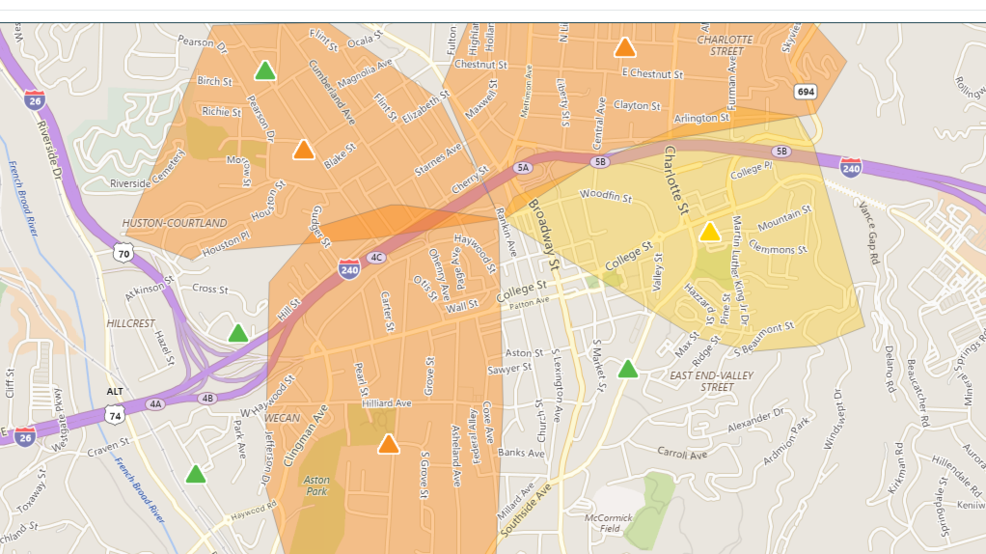 Rutherford Electric Power Outage Map.Thousands Without Power After Problem At Duke Substation In