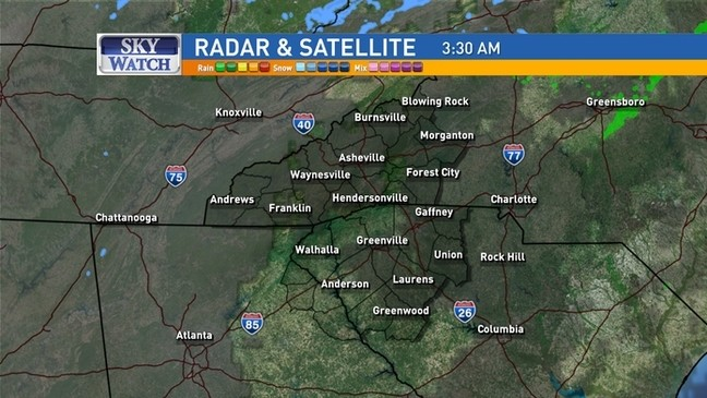 Saturday Weather Update: Flooding, Snow, and Icy Roads | WLOS