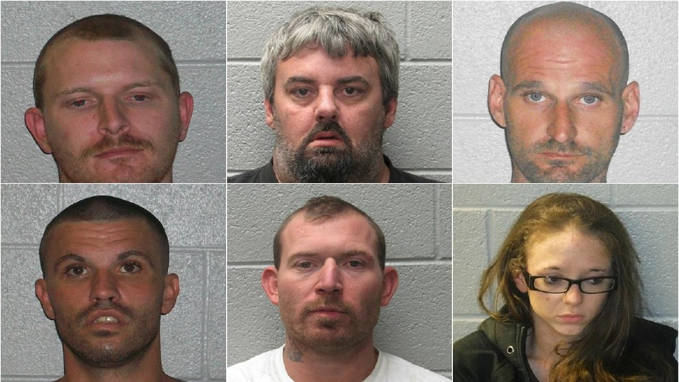 Henderson deputies arrest 6 on vehicle theft charges | WLOS
