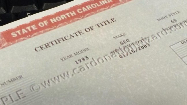 News 13 Investigates: 75,000 NC car titles washed clean of