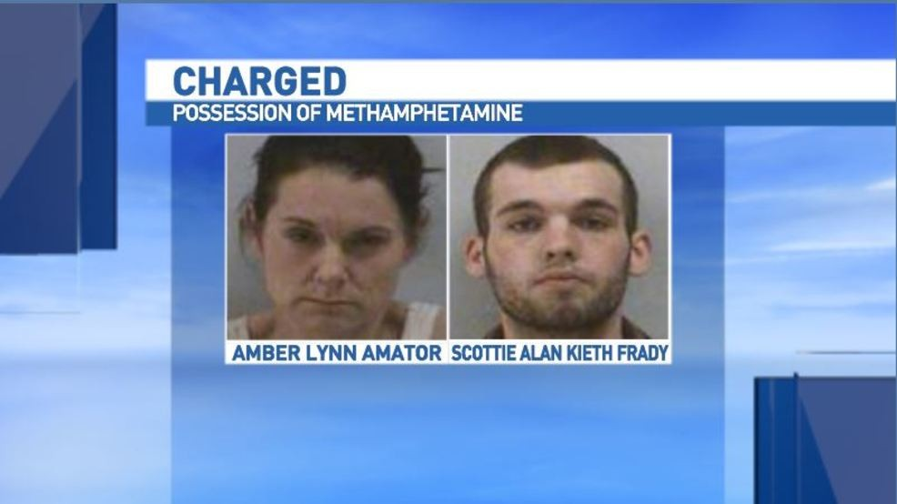 Marion traffic stop results in 2 arrests for meth possession | WLOS