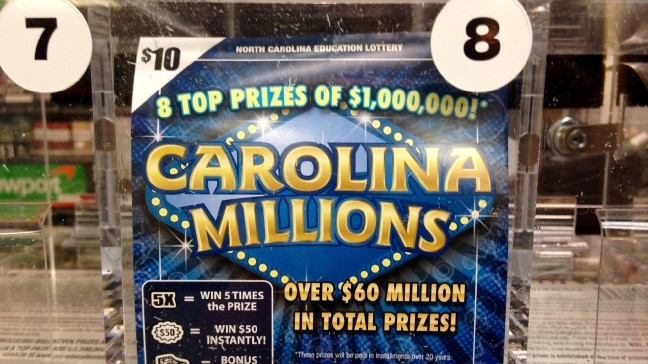 Leicester woman tries to teach husband lesson, wins $1