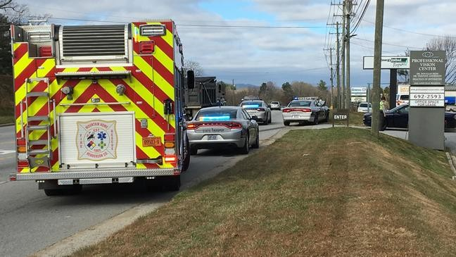 Two hospitalized in crash involving state trooper | WLOS