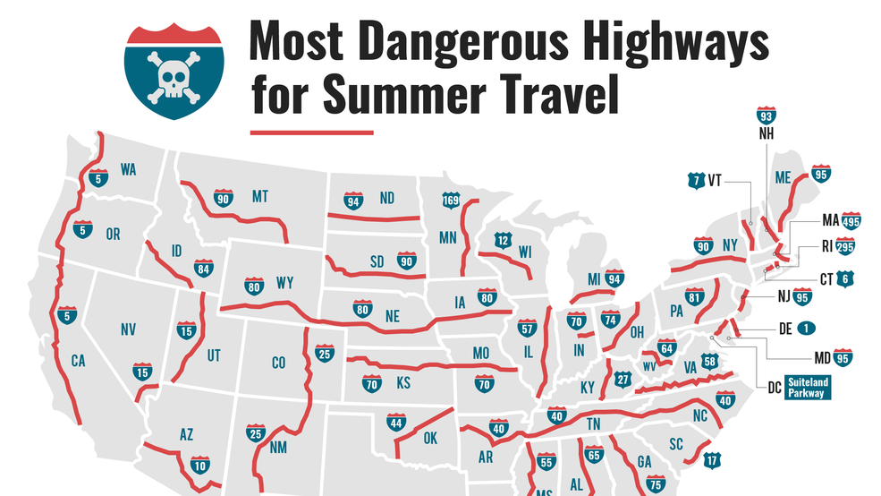 I 40 Ranked As The Deadliest Highway In North Carolina Wlos