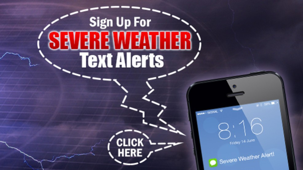 Users now able to target Severe Weather text alerts from